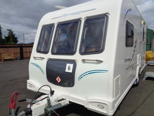 Caravan N0. 06 – 2011 Bailey Olympus 462, 2 berth, £9,900