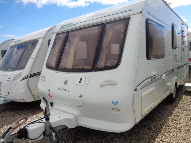 Caravan No. 08 – 2005 Elddis Avante 524, 4 berth, £4,700