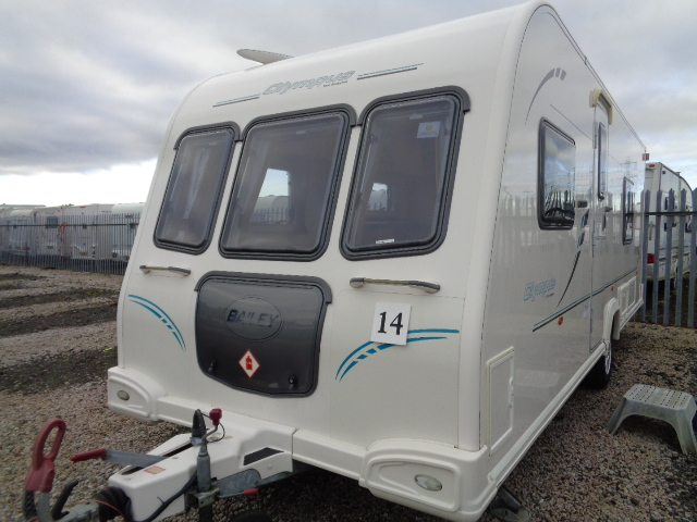 Caravan No. 14 – 2010 Bailey Olympus 534, 4 berth, £11,700