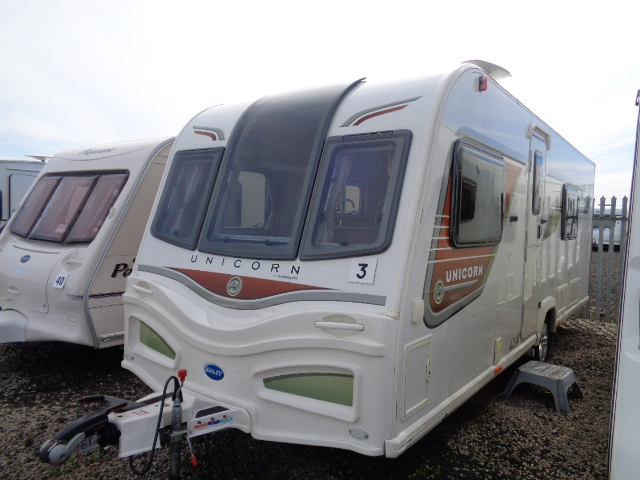 Caravan No. 03 – 2013 Bailey Unicorn Valencia II 4 berth, £16,900
