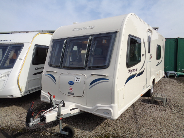 Caravan No. 34 – 2013 Bailey Olympus 530/4, 4 berth, £13,600