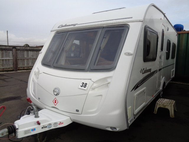 Caravan No. 38 – 2008 Swift Colonsay (Charisma 555), 4 berth, £7,900