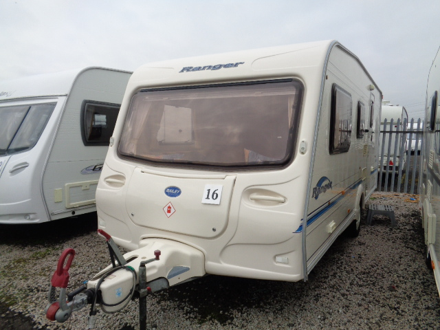 Caravan No. 16 – 2004 Bailey Ranger 500/5, 5 berth, £5,900