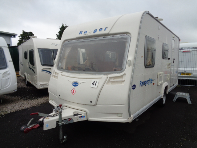 Caravan No. 41 – 2007 Bailey Ranger 470/4, 4 berth, £8,800