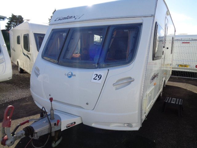Caravan No. 29 – 2008 Lunar Galaxy EB, 4 berth, £8,900