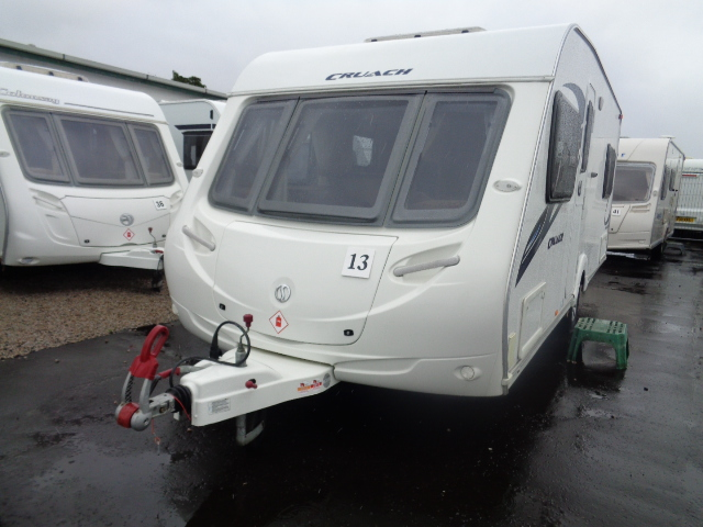 Caravan No. 13 – 2010 Sterling Cruach Mhairi, 4 berth, £11,700