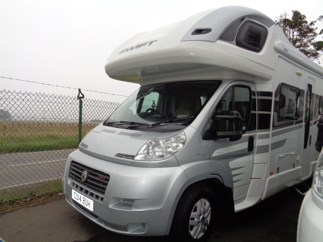 2014 Fiat Ducato 42 Multijet, Swift Kontiki 649, 6 berth, £64,500