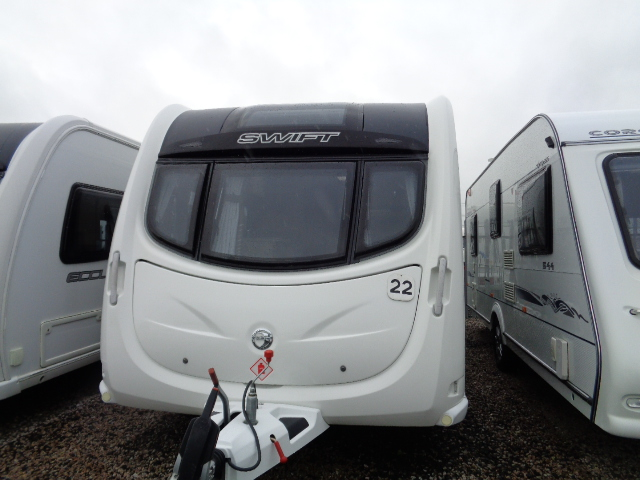 Caravan No. 22 – 2013 Swift Conqueror 570, 4 berth, £16,500