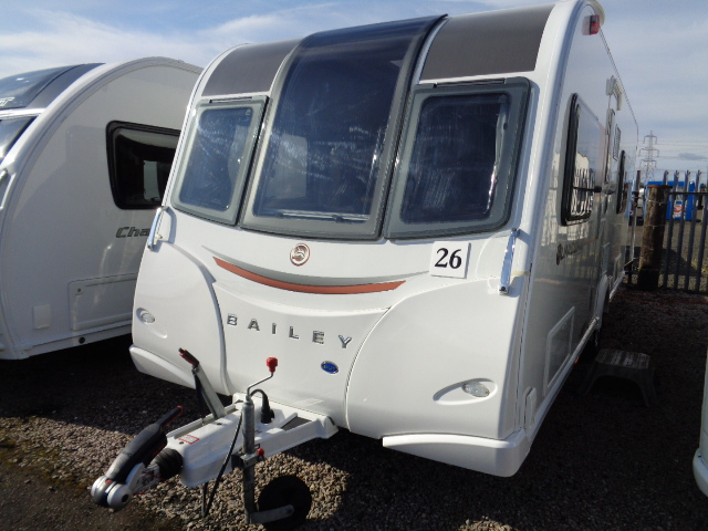 Caravan No. 26 – 2015 Bailey Unicorn III Cadiz, 4 berth, £19,800