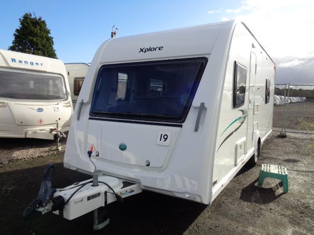 Caravan No. 19 – 2014 Elddis Xplore 574, 4 berth, £12,900