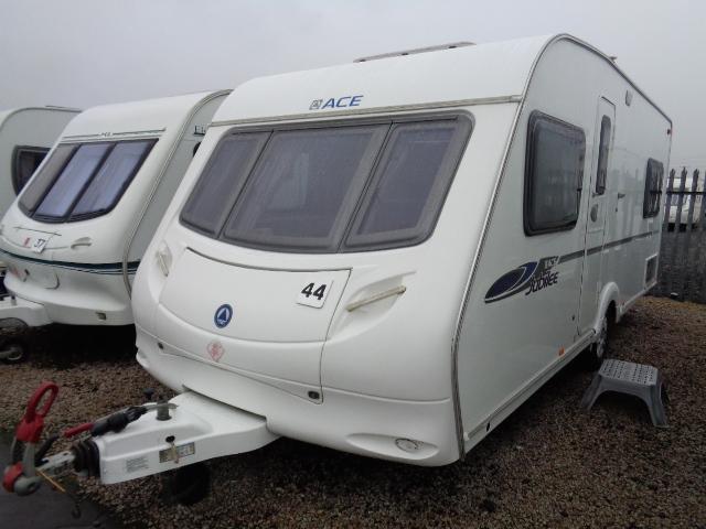 Caravan No. 44 – 2008 Ace Jubilee Aristocrat, 4 berth, £9,700
