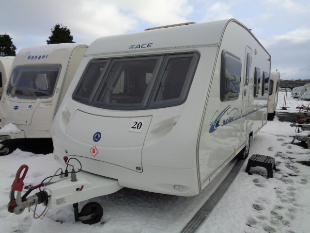 Caravan No. 20 – 2008 ACE Aristocrat, 4 berth, £8,300