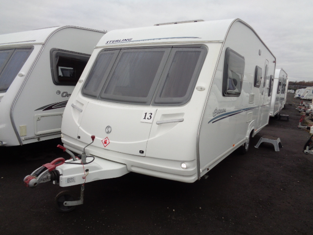 Caravan No. 13 – 2008 Sterling Europa 530, 5 berth, £8,900