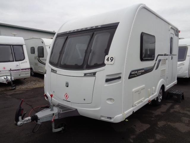Caravan No. 49 – 2014 Coachman Vision 380/2, 2 berth, £14,500