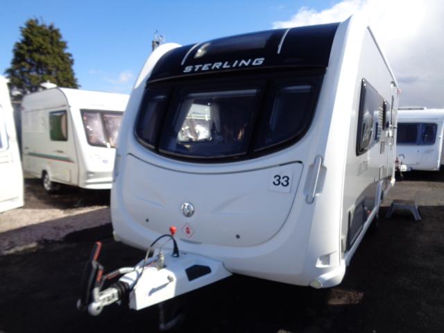 Caravan No. 33 – 2012 Sterling Elite Emerald, 4 berth, £13,800