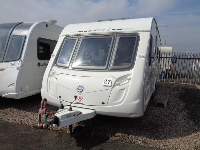 Caravan No. 27 – 2009 Swift Challenger 625 T/A, 6 berth, £10,900