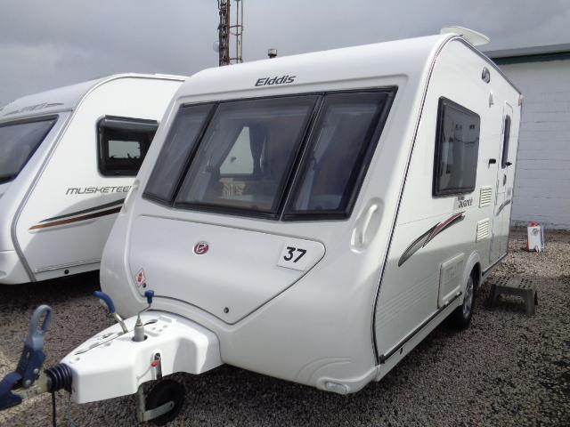Caravan No. 37 – 2010 Elddis Avante 362, 2 berth, £10,700