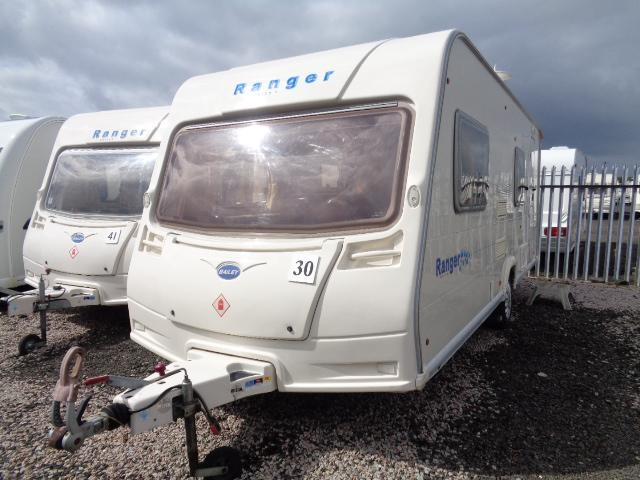 Caravan No. 30 – 2006 Bailey Ranger 550/6, 6 berth, £7,500