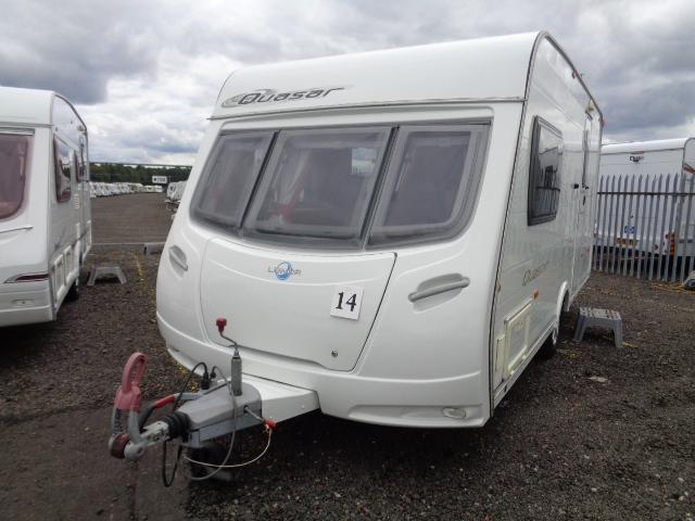 Caravan No. 14 – 2008 Lunar Quasar 462, 2 berth, £7,800