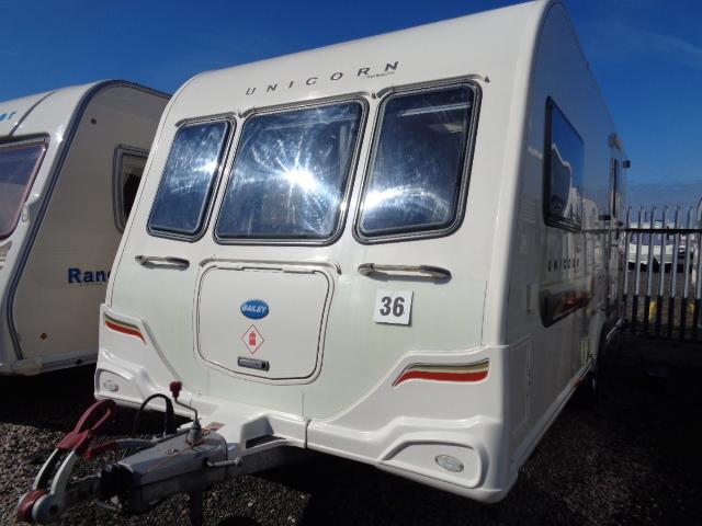 Caravan No.36 – 2011 Bailey Unicorn Seville, 2 berth, £11,500