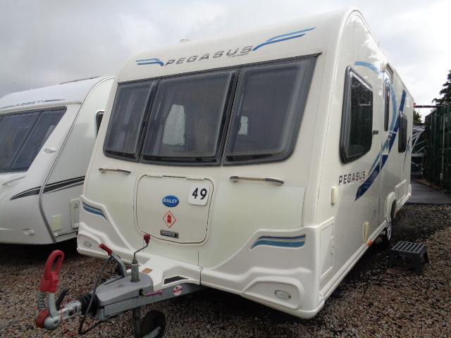 Caravan No. 49 – 2011 Bailey Pegasus Verona, 4 berth, £13,500