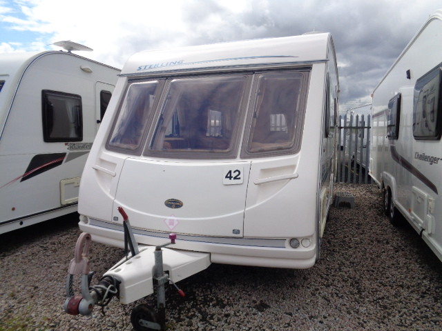Caravan No. 42 – 2003 Sterling Eccles Moonstone, 4 berth, £5,800