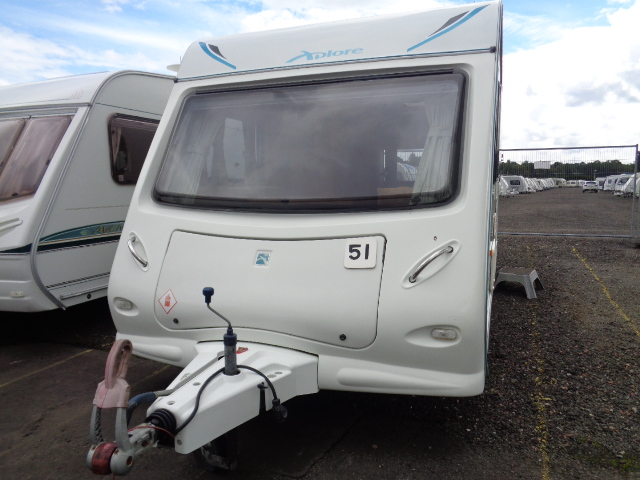 Caravan No. 51 – 2009 Elddis Xplore 495, 4 berth, £8,500