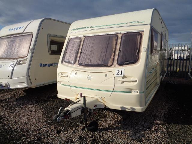 Caravan No. 21 – 1998 Avondale Dart 515_4, 4 berth, £3,800