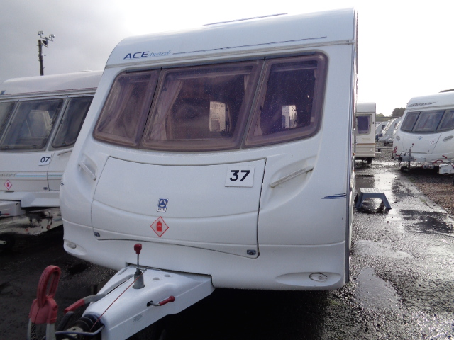 Caravan No. 37 – 2004 Ace Award Transtar, 4 berth, £6,500