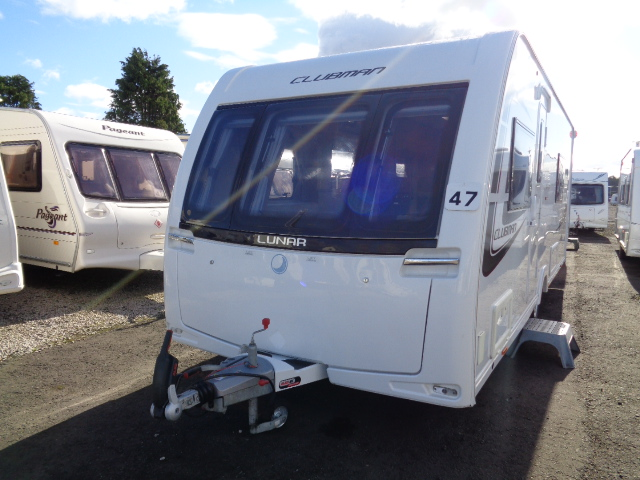 Caravan No. 47 – 2014 Lunar Clubman, 4 berth, £16,900