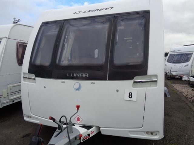 Caravan No. 08 – 2013 Lunar Clubman ES C34, 4 berth, £13,700