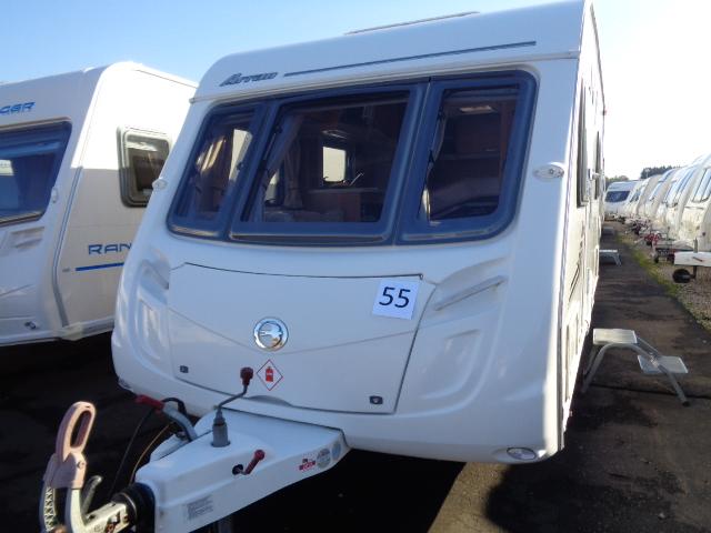 Caravan No. 55 – 2010 Swift Charisma 535 Arran, 4 berth, £11,500
