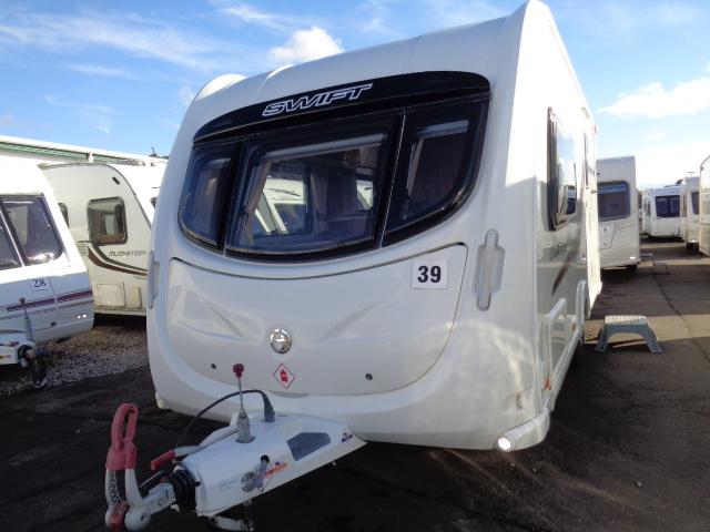 Caravan No. 39 – 2011 Swift Challenger 480, 2 berth, £10,900