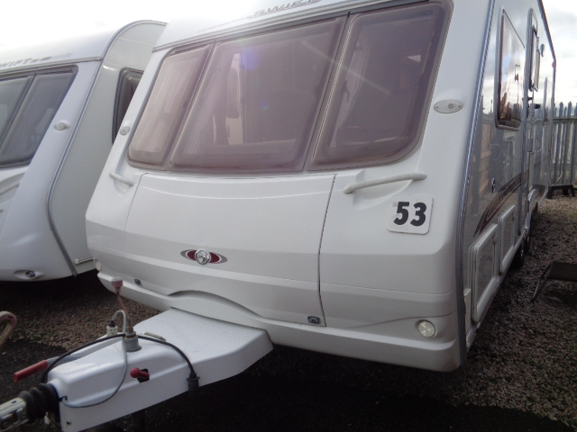 Caravan No. 53 – 2005 Swift Conqueror 630 SAL T/A, 4 berth, £8,900