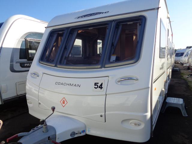 Caravan No. 54 – 2008 Coachman Pastiche 535/4, 4 berth, £8,500