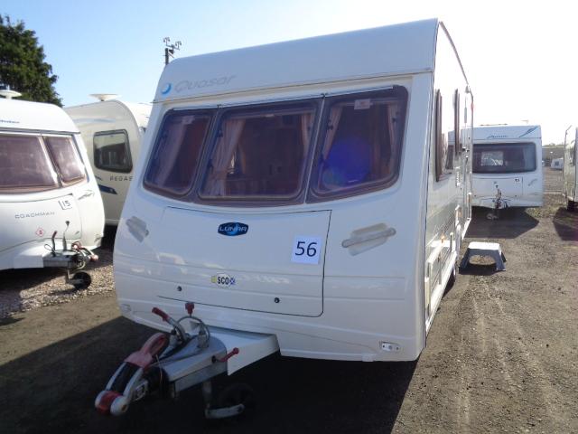 Caravan No. 56 – 2006 Lunar Quasar, 4 berth, £7,900