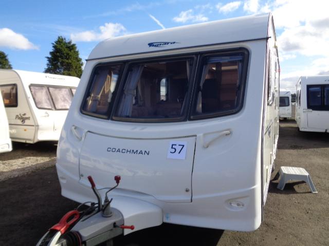 Caravan No. 57 – 2008 Coachman Amara 530/4, 4 berth, £8,500