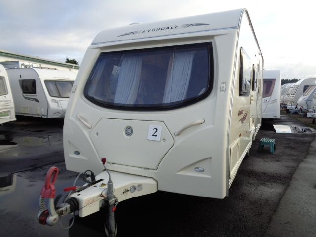Caravan No. 02 – 2008 Avondale Dart 545, 4 berth, £8,400