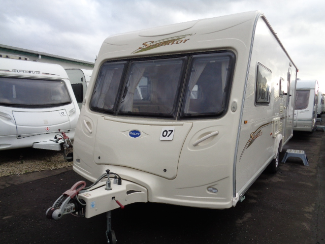 Caravan No. 07 – 2007 Bailey Senator Arizona, 4 berth, £8,600