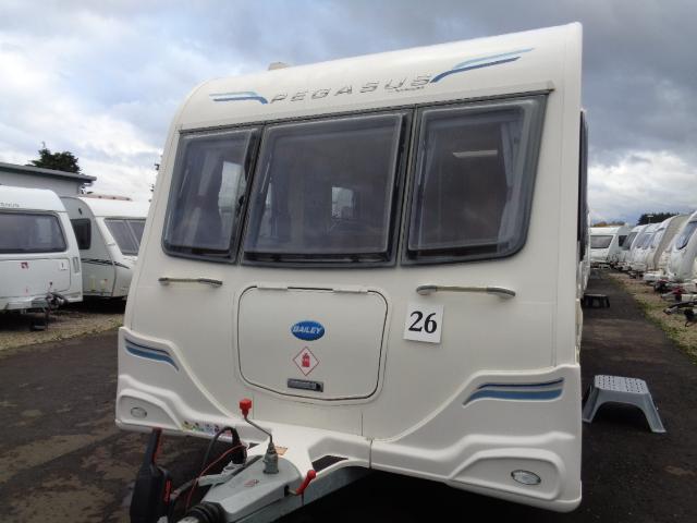 Caravan No. 26 – 2012 Bailey Pegasus II Rimini, 4 berth, £13,400