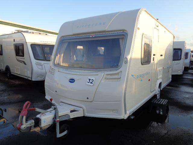 Caravan No. 32 – 2007 Bailey Discovery 5 Mercury, 4 berth, £6,800