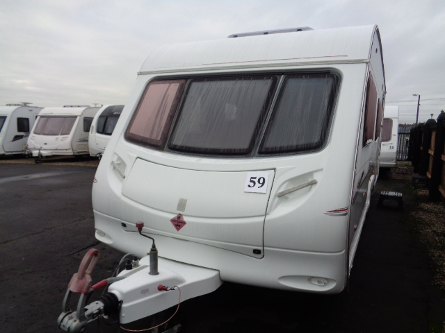 Caravan No. 59 – 2005 Swift Ace Jubilee Equerry T/A, 6 berth, £8,200