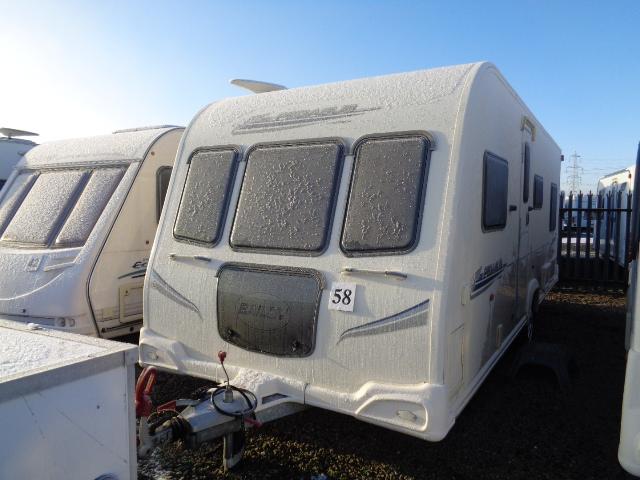 Caravan No. 58 – 2010 Bailey Pegasus 524, 4 berth £12,500