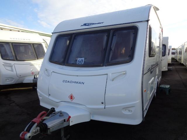 Caravan No. 60 – 2008 Coachman Amara Highlander 380/2, 2 berth, £8,500