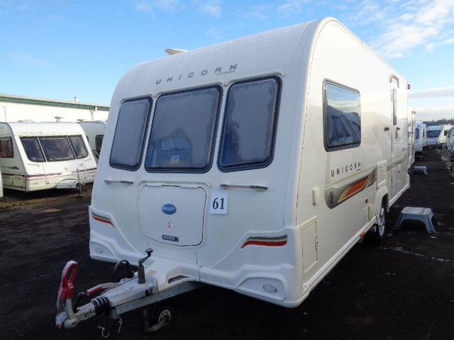 Caravan No. 61 – 2011 Bailey Unicorn Seville, 2 berth, £10,900