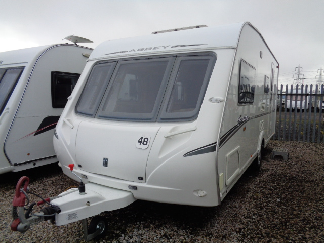 Caravan No. 48 – 2008 Abbey Spectrum 416, 4 berth, £8,900