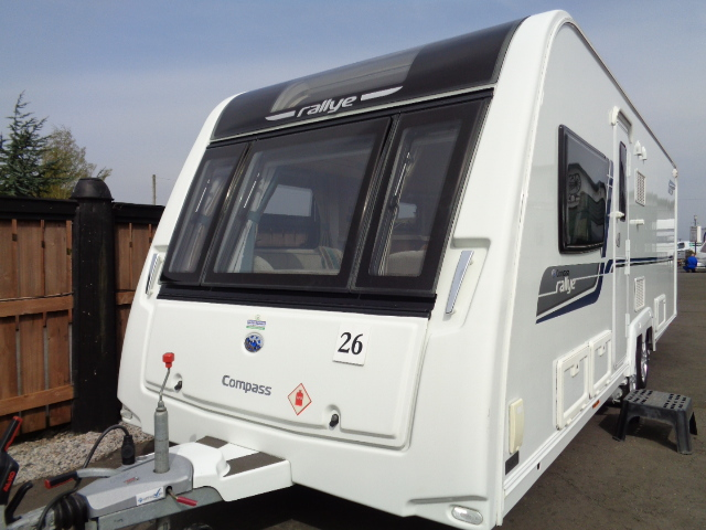 Caravan No. 26 – 2014 Compass Rallye 644, 4 berth, £17,900