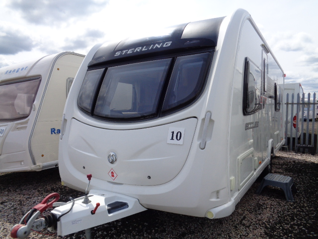 Caravan No. 10 – 2011 Sterling Eccles Solitaire, 4 berth, £11,500