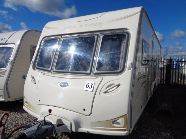 Caravan No. 63 – 2008 Bailey Senator Louisana T/A, 4 berth, £9,800