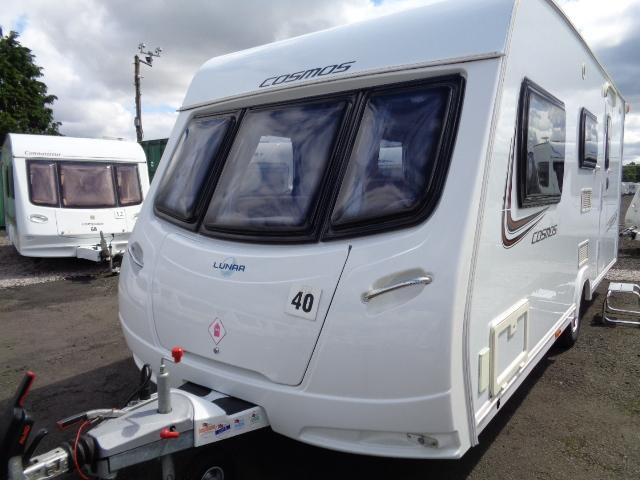 Caravan No. 40 – 2013 Lunar Cosmos 524, 4 berth, £11,900